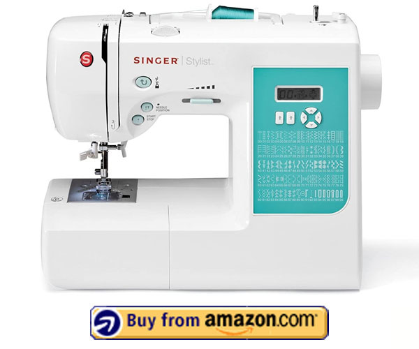 SINGER 7258 - Best Singer Embroidery Machine Under $1000 2021