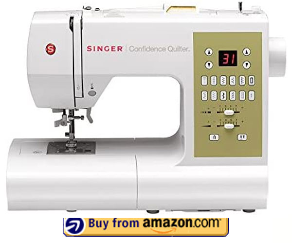 SINGER   Confidence 7469Q – Best Hat Embroidery Machine 2021