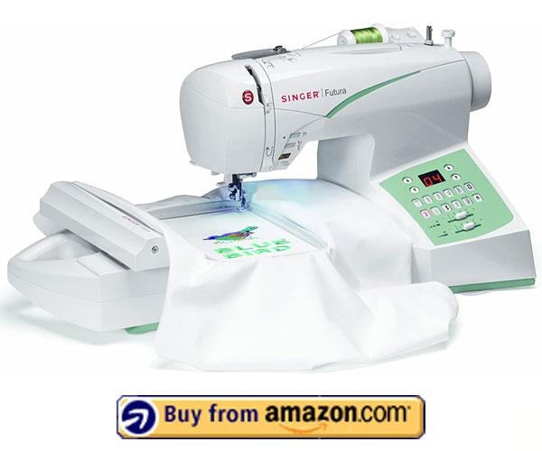 Singer Futura CE-250 – Fastest Embroidery Machine 2020