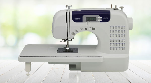 look and design of Brother CS6000i 2021