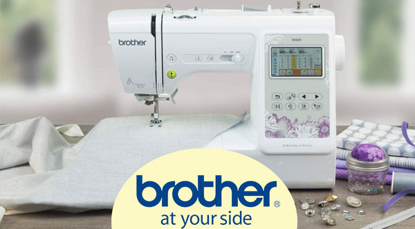 brother se600 look and design in 2021